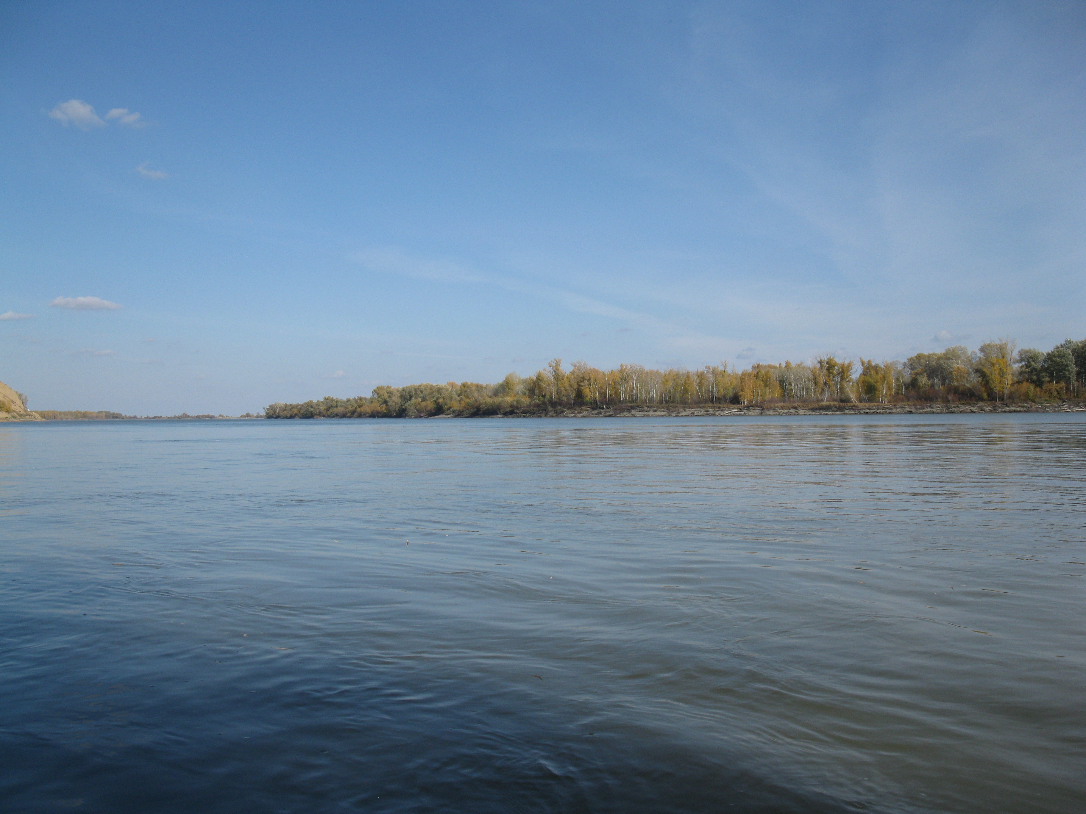 Один прекрасный, осенний день на реке 2018г.