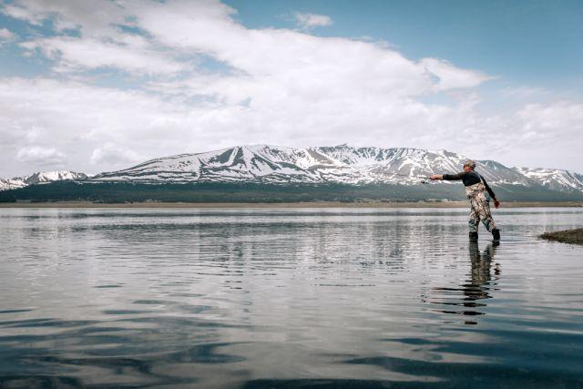 Рыбалка на оз. Хотон, 2018
