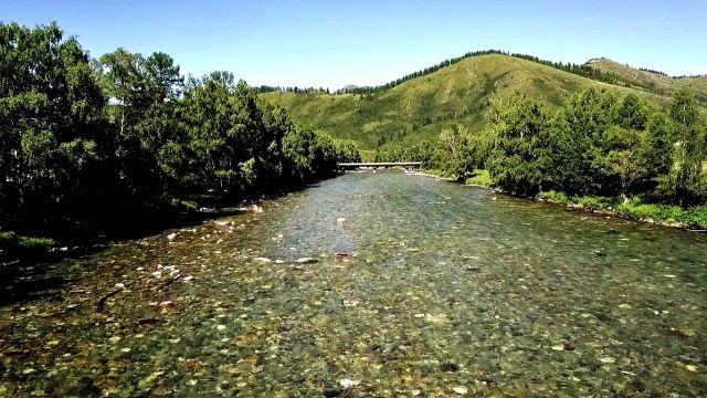 Слезы Алтая река Кумир