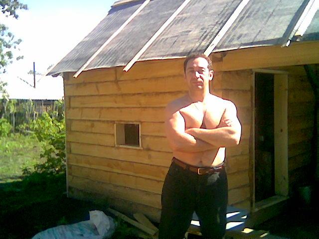 2008г. Строю баньку
