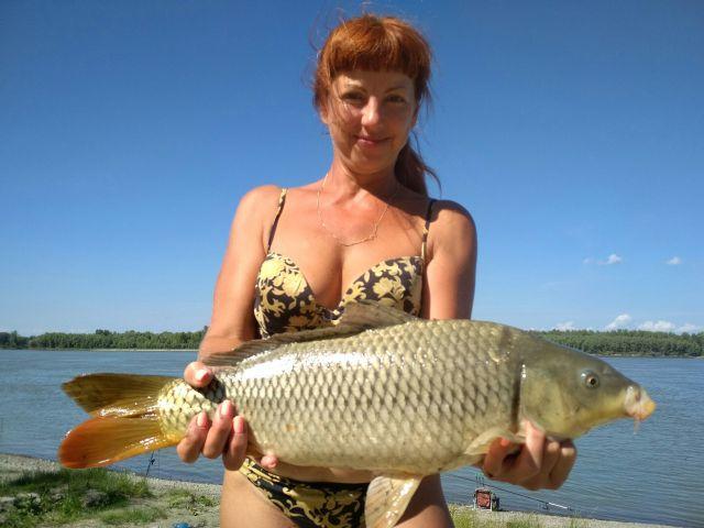 Светлана Наумова, Сазан, 2300 кг.