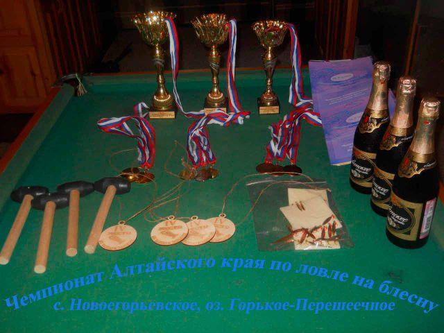 Чемпионат Алтайского края по блесне, 06.01.2017г.