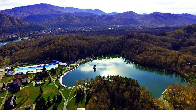 озеро Ая на Алтае