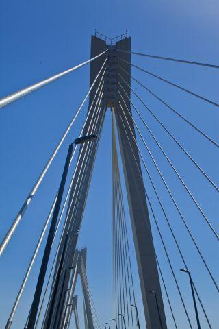 Ванты моста через Оку. Муром.