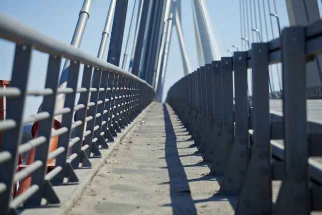 Мост на Оке. Муром. Пешеходный проход.