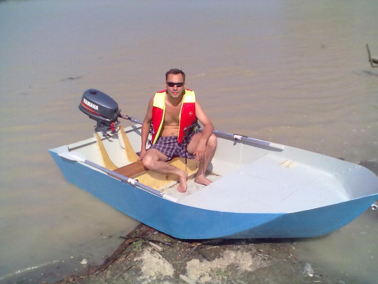 Небольшую лодку под мотор своими руками 95