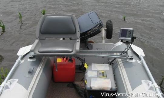 Тюнинг для лодок пвх своими руками фото