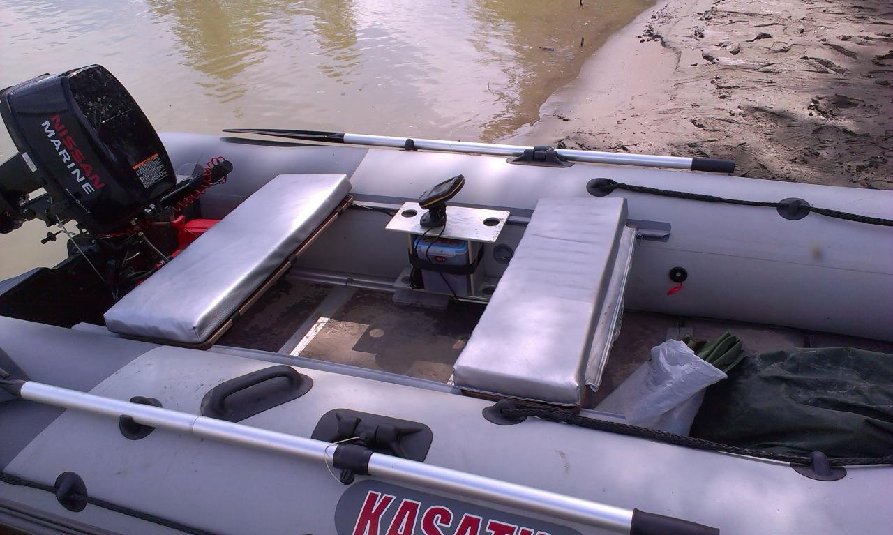 Накладка на сидение в лодку своими руками