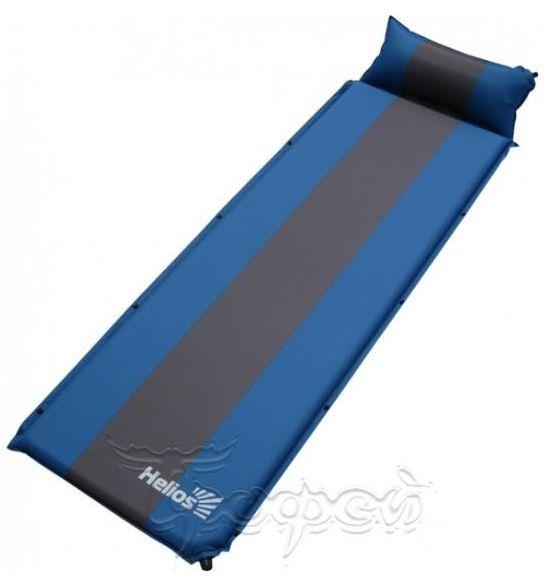 коврик самонадувающийся с подушкой HS-005P Helios.JPG