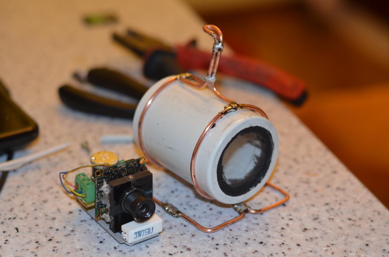 Видеокамеры наблюдения сделать своими руками