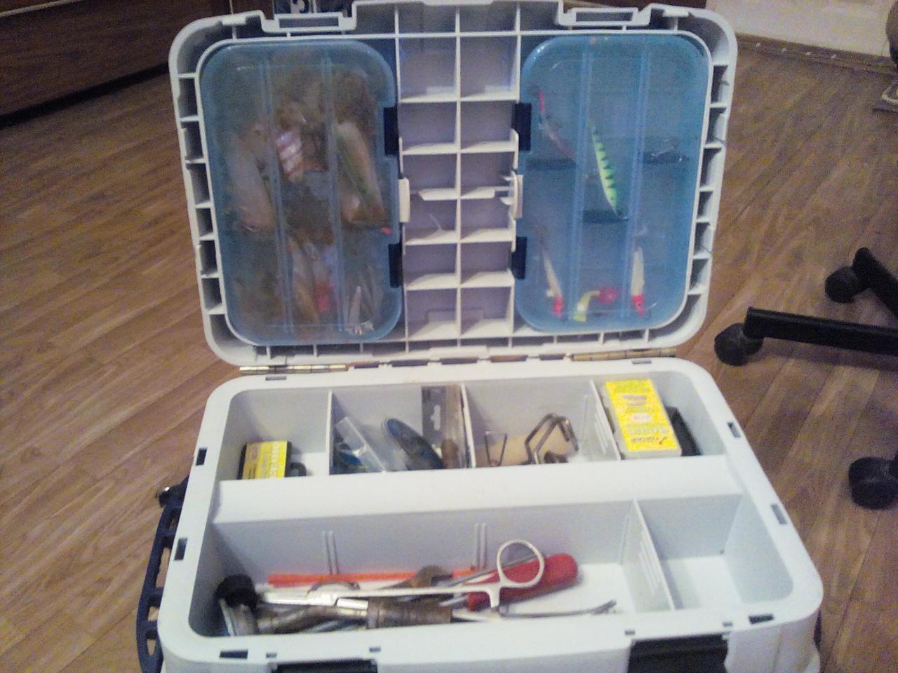 Рыболовный ящик для летней рыбалки своими руками фото