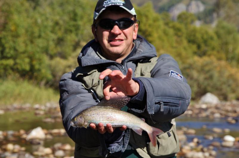 Горный чарыш рыбалка