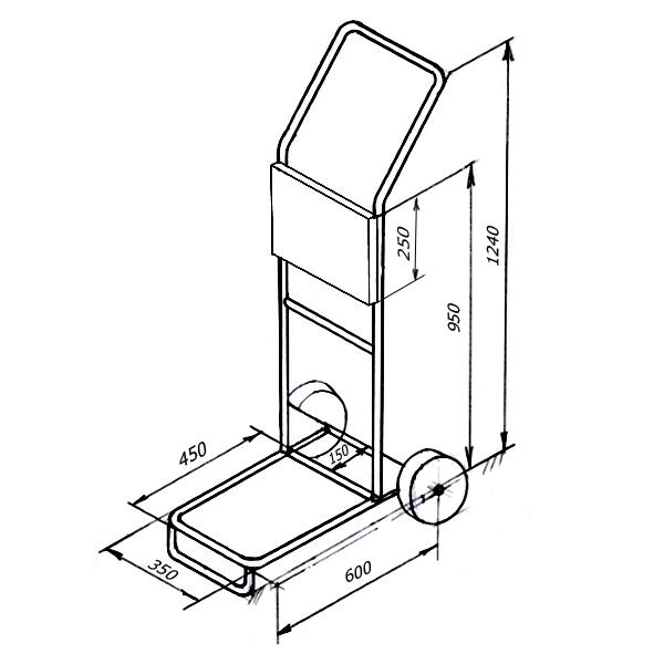 подставка для лодочного мотора своими руками чертежи