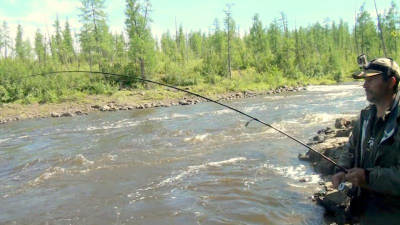 рыбалка на красноярском море 2017 видео