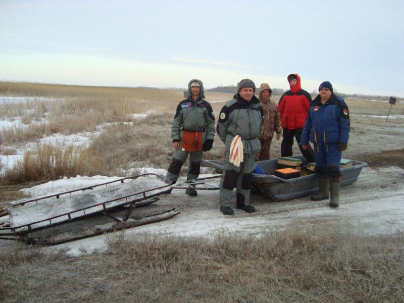 рыбаки по алтайскому краю