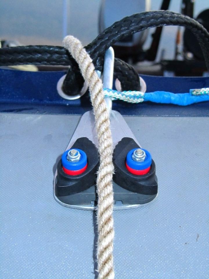 встанешь ногой на лодок